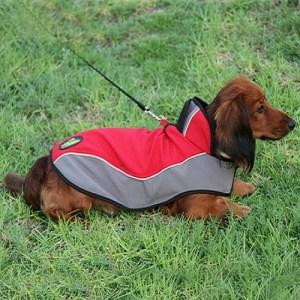bd449b9aeee Abrigo impermeable de perro Teckel «Capa chubasquero»